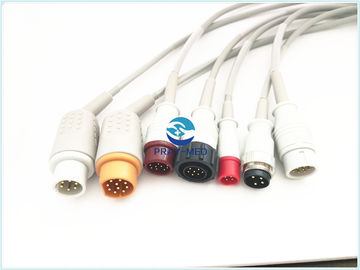 Kabel Ge Datex Ohmeda Ge Ibp, 10 Konektor Pin Philips Philips Ibp Cable