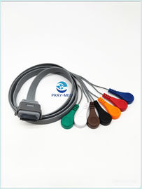 Biomedical BI9800 / BI9000 Holter Ecg Cable 7 Lead 26 Pin Kompatibel Dengan Edan
